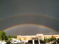Armageddon Rainbow over King Soopers