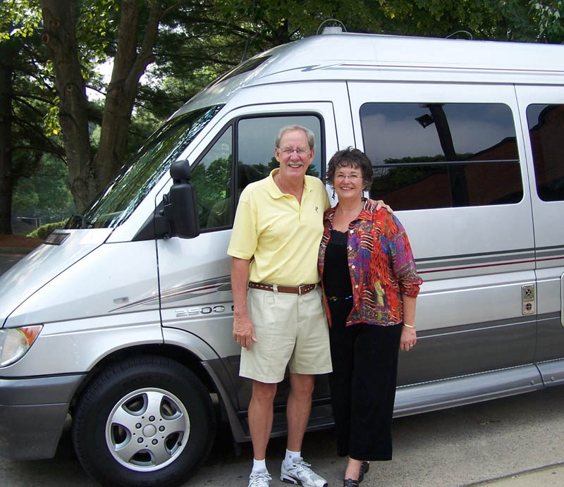 Road Trip Dream Authors Phil and Carol White