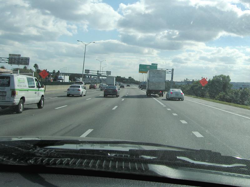 Florida Traffic Scene