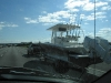 Big boats on highway 95, lots of 'em!