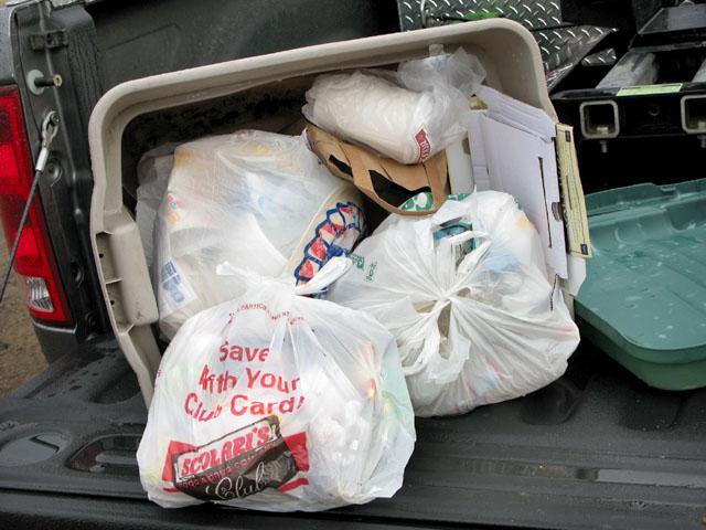 OHV Trash from Jawbone Station