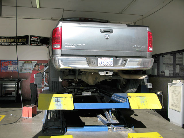 Dodge Truck Front End Alignment, Indio CA Big O Tires
