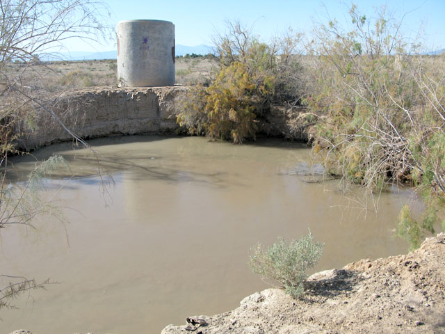 Slab City Natural Hot Springs near Salton Sea