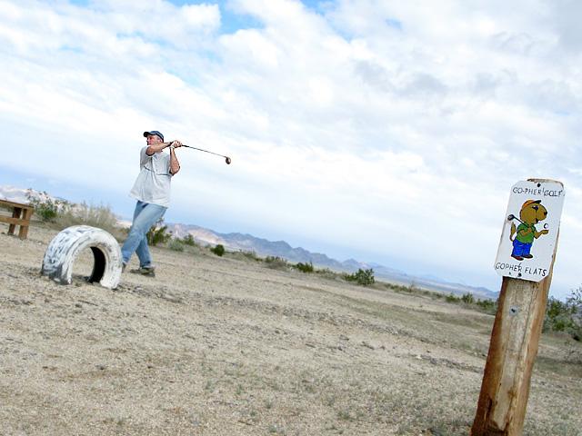 Gopher Flats Golf Course Slab City