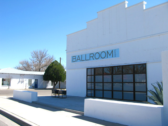 Marfa Texas Art Gallery