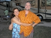 Happy Couple at NuRVers Ralley Luau Night