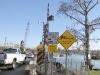 Temporary Bridge on Bayou Liberty