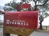 Farmall Mailbox in Luckenbach, TX