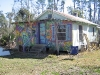 Meg's house at BioLiberty compound on Bayou Liberty