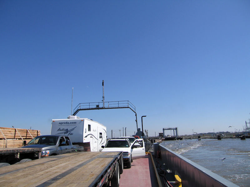 Creole, LA auto ferry