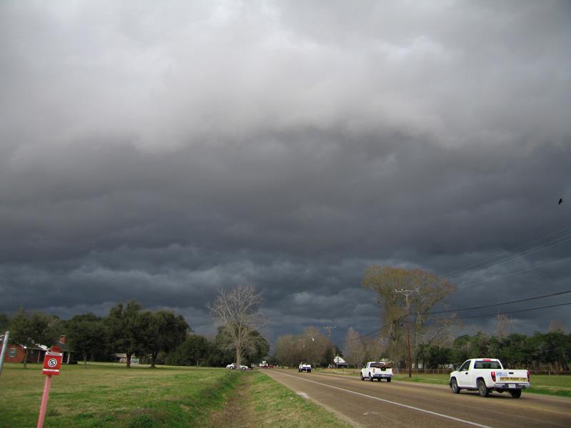 Abbeville Louisiana Thunder Storm