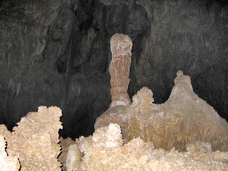 The big room in Carlbad Caverns