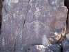 Mogollon Indian petroglyphs in Tularosa Valley, New Mexico
