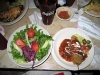 Eating at Chuy's Restaurant, Austin TX