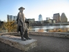 Stevie Ray Vaughn Statue in Austin, TX