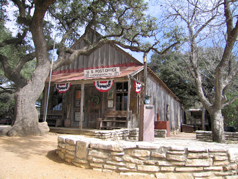 03. Luckenbach post office
