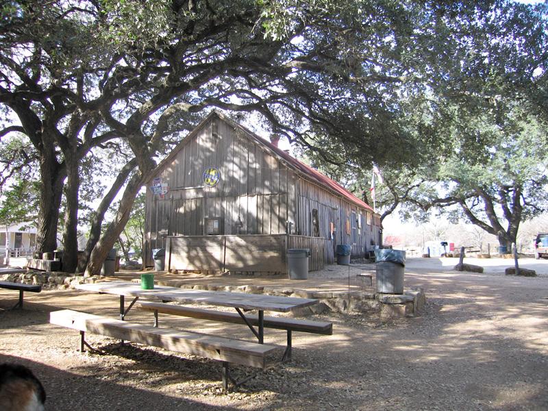 Luckenbach Texas festival grounds