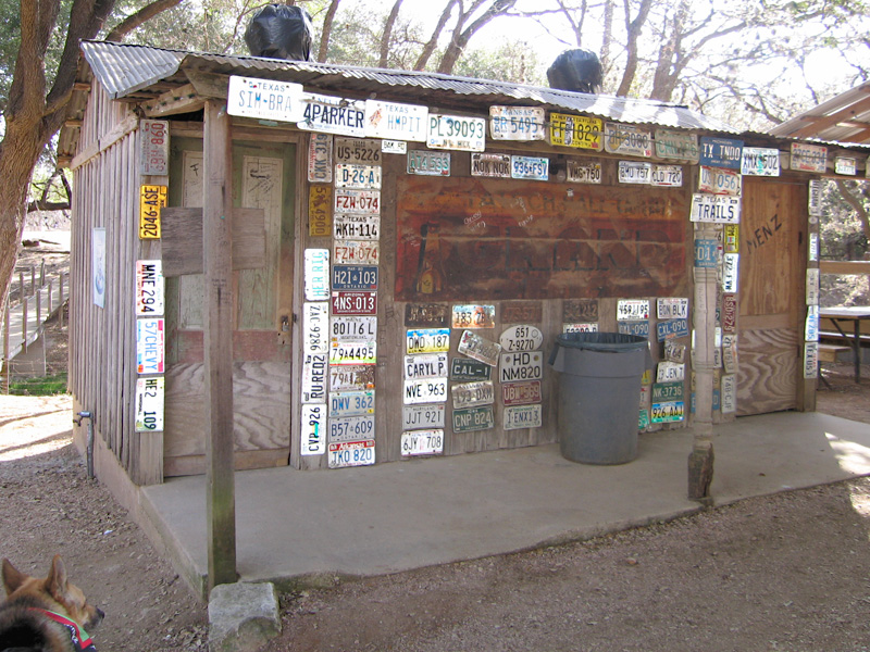 11. Luckenbach outhouse and privvy