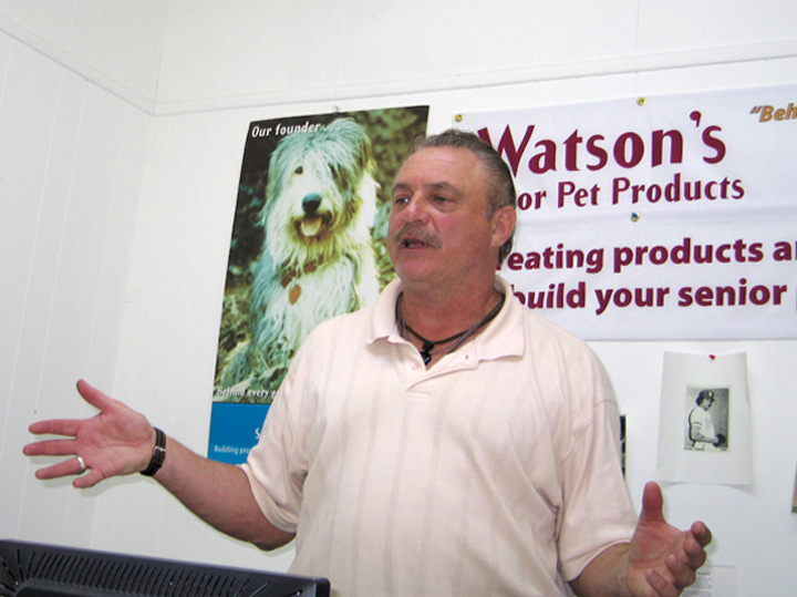 Arnie Costell Owns Watsons Pet Products