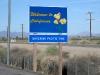 California Border Sign