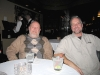 Jim and el Jefe in the Dal Rae bar