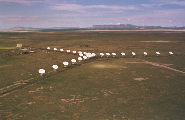 Very Large Array Aerial Socorro NM