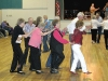 Line Dancing at the T or C Fiesta Fiddle Fest Friday Dance