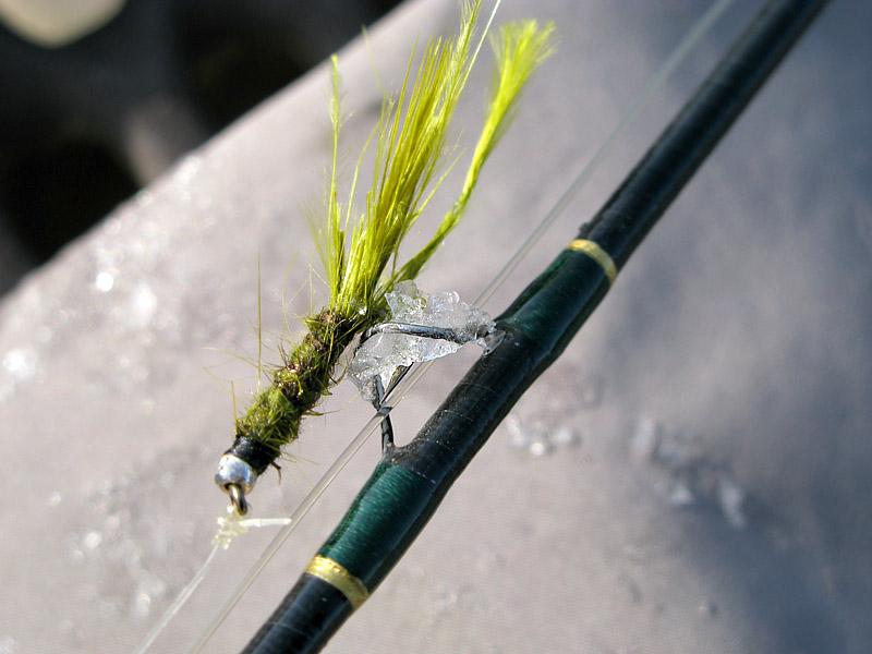 Frozen Fly Rod Eyelets