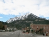 Steep HWY 550 through downtown Ouray, CO