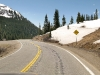 Scary Skid marks on Million Dollar Highway 550