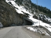 Avalanche Tunnel on the Million Dollar Highway 550 from Ouray to Silverton, CO