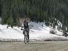 Mountain Biking up Silverton Mountain to the Ski Resort