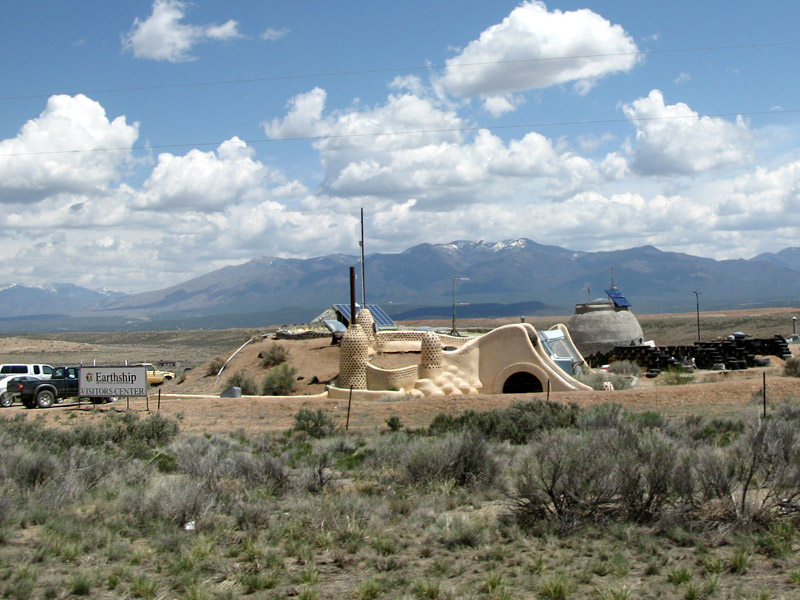 New Mexico Earthship