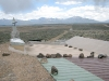 Earthship rain roof Taos NM