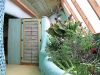 Earthship Interior greenhouse Taos
