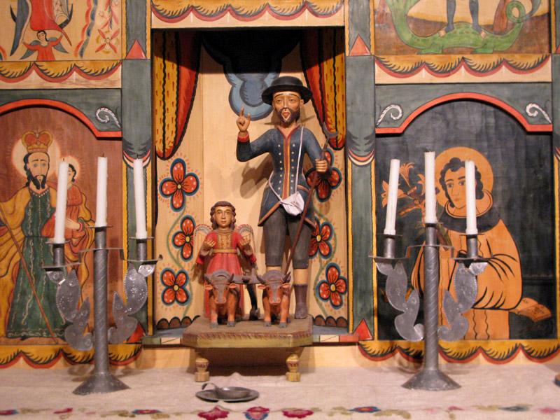 El Rancho de las Golondrinas Chapel Altar