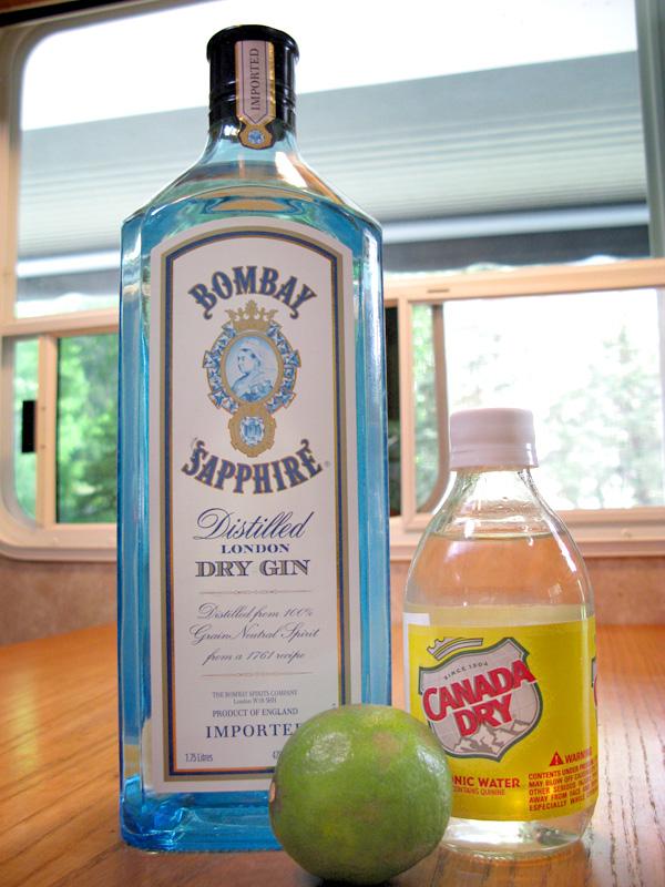 RV booze stocking up