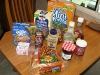 Free food haul from cleaning cabins at Vickers Ranch