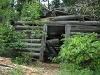 1800s Fish Smokehouse Cabin at Waterdog Lake on Vickers Ranch