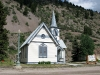 Old Church in downtown Lake City, CO