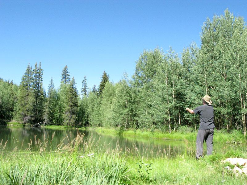 Jim flyfishing Lake Fork Gunnison River