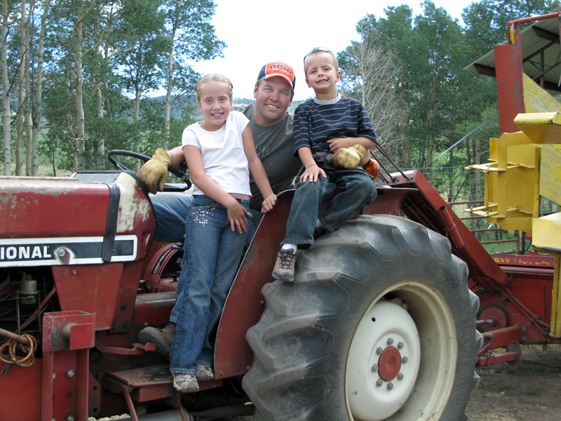 Paul and the fifth generation of Vickers ranchers