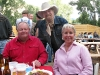 Michael Martin Murphy meets Larry and Paulette Vickers at BBQ Station