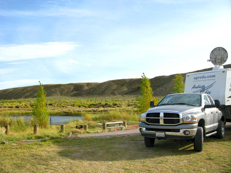 Free boondocking in Wyoming