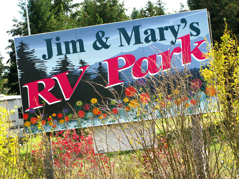 Missoula Montana RV Park Jim and Mary's