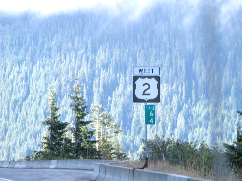 cascade mountains steep grade Highway 2