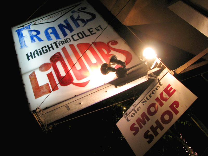 Franks Liquors in the Haight