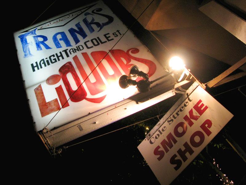Franks Liquors in the Haight