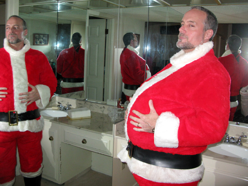 Good Santa Jim Christas Eve