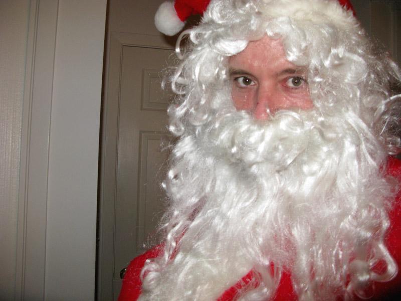 Good Santa Jim Christas Eve